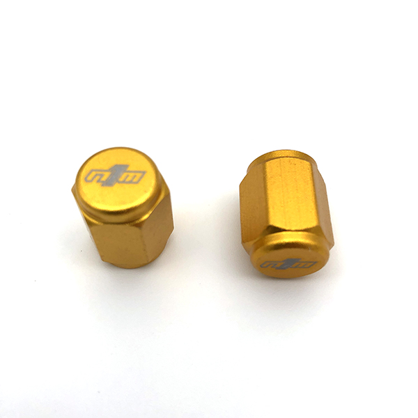 NINE1METAL VALVE CAP GOLD